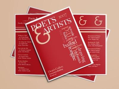 Poets & Artists Brochure