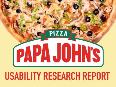 Papa John's Usability Research